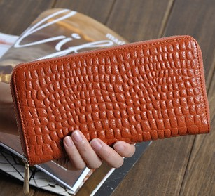 Special offer Free shipping+Hot sale GENUINE LEATHER Clutch bag coin purse,evening bag,handbag 10colors JJ0387