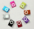 200pcs/lot Mini Clip Mp3 player Support 1GB-8GB SD/TF Card Cute,NO Earphone,USB Cable,Package