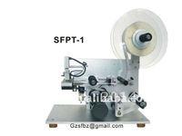Automatic flat top labeling machine