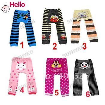 10pcs/lot NEW Arrival Children Kids PP Pants Long Trousers Cartoon Legging Cotton Baby Boys Girls Wear HOT Sale3250