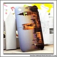 New design Eiffel Tower Cell phone cases for iphone 3g/3gs with factory price
