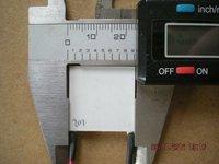 TES1-12702T125,Max15.4V,25x25mm,thermoelectric cooler parts,peltier module,tec cooler,Tec module,