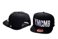 wholesale YMCMB black visor caps snapbacks cap snapback hats snap back hat  top quality caps tag Crooks and Castles  adjustable