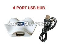 freeshipping!5pcs/lot UFO 4PORT USB 2.0 HUB LAPTOP PC Slim,Computer Accessories
