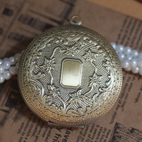 10pcs/lot  50*13mm Antique Bronze Big Photo Locket Jewelry /DIY Pendants Charms/Jewelry Accessories Wholesale,Free Shipping