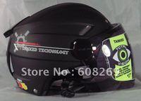 Free shipping! Wholesale Motorcycle helmet / half helmet / helmet T501 Black / Asian black/Motorcycle armor