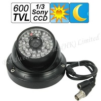600 TVL 1/3 Sony CCD Video Surveillance Camera with Night Vision,Vandalproof Dome Camera with 40M IR distance