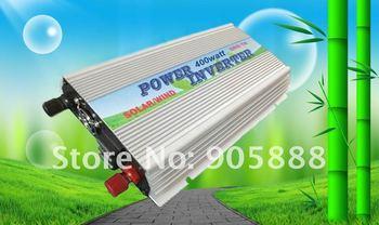 Hot Sell!!400W grid tie power inverter solar wind AC 110v-240v(CP-GTI-400W)