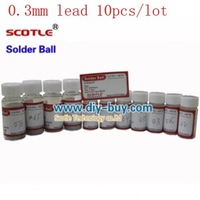 0.3mm Scotle Leaded Solder Ball 25k For BGA Reballing 10pcs/lot