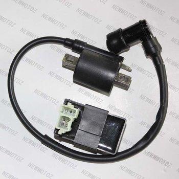 IGNITION COIL AND CDI BOX CHINESE ATV QUAD DIRT BIKE CG125, 150CC 200CC 250CC