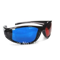 Free shipping 1pcs Real D Plastic Circular Polarized 3D Glasses For Movie And TV New Technology from CUBIX