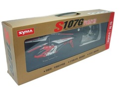 SYMA 3CH S107 INFRARED RC HELICOPTER W/GYRO & USB (RED)(China (Mainland))