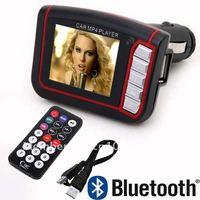 Car MP4 Player SD Wireless FM Transmitter Modulator with Remote Control Express 10pcs