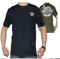 FREE SHIPPING 2012 NEW  511 Speed dry round brought t-shirts character pattern two  colors   mens T -  SHIRT
