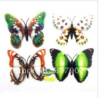 Popular Three-dimensional simulation of butterfly stickers, fridge magnet, refrigerator magnets / #338