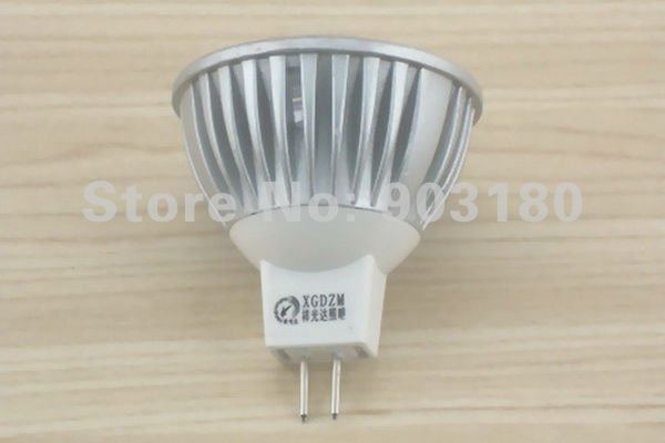20pcs 3 LED 12V 3W MR16 LED lamp/ cup/ Energy-saving lamps/ High quality special design LED lamp/Low carbon Reasonable freight(China (Mainland))