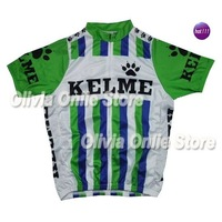 Throwback KELME GREEN Only short Sleeve Cycling Jersey,cycling wear S~XXXL