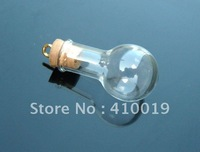 8MM Round Bottle Bulb, Aroma necklace vial, perfume vial, essential oil vials(28MMX16MM,2ML)
