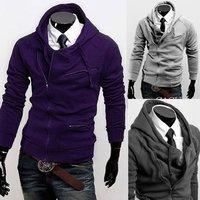 Толстовки и Кофты мужчин тонкая рубашка Верхняя одежда мужчин