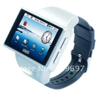Z100 black  ANDROID 2.2 WATCH PHONE  WITH GPS WIFI  2.0 Capacitance screen fly touch