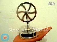 NEW LOW TEMPERATURE STIRLING ENGINE FREE SHIPPING, DRIVEN BY HAND/ROUTER/SOLAR/ engine running on a router