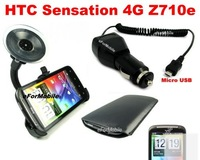 USB Car Charger Adapter  For HTC Sensation 4G Z710e