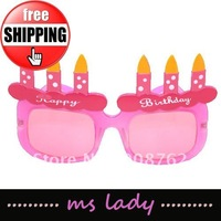 free shipping fashion lady glasses eyewear special stylish party glasses HK airmail
