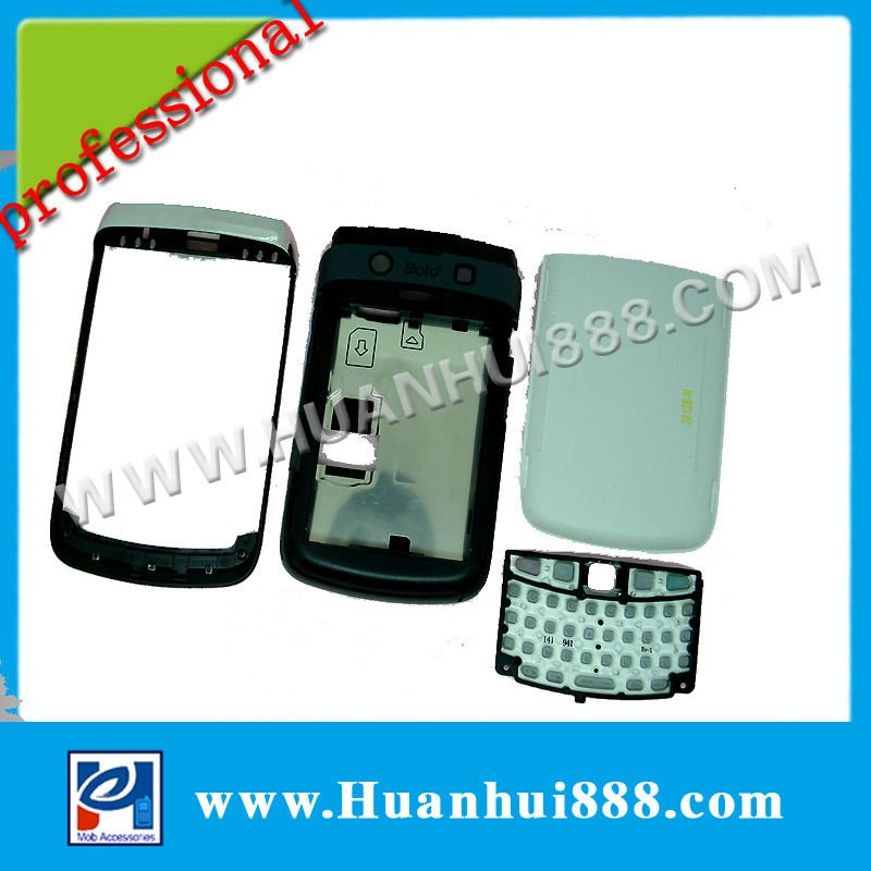 cell phone spare parts handphone casing for blackberry bold 9700(China (Mainland))