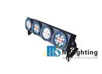 Free Shipping Guaranteed 100%  Big Power 48W RGB LED 4 EYE Light Blinder Light LED Audience Light