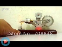 BRAND NEW STIRLING ENGINE POWER ELECTRICITY GENERATOR WITH LED LIGHT TOY/Exquisite craft gift