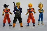 Dragonball Dragon ball Z Action Figures set of 4 #E style Janpan Anime Toys NEW HOT