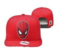 MARVEL SPIDERMAN HERO SNAPBACK HAT Cartoon style supermen superman Caps YMCMB Snapback Hat  Cap Sport Cap Wholesale snapbacks
