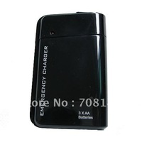 10pcs 3 X AA LR6 / HR6 Battery USB Portable Emergency Charger for ipod touch 2 3 4 for ipod nano with led light