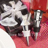 Bride and Groom Wine Stopper Set  ;wedding gift;baby shower