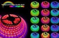 5M RGB LED Strips ribbon Lights SMD 5050 + controller waterproof  60LED/M
