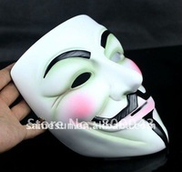 Top quality resin mask of V for Vendetta, Jason and Saw (3 sample for Russia client)