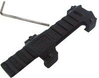 Metal Weaver 20mm Scope Mount Base 4 MP5/G3 Airsoft GUN