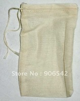 "Natural Cotton yarn Bag 3"" x 5"" - 5 Pack"