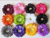 4inch Gerbera Daisy flower Head Heads gerbera interchangeable(200 pcs/lots)200pcs