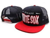 Trucker Hat Chicago White Sox snap back Caps mesh DOPETASTIC SNAPBACK stoked Snapback Hat Cap Sport Cap Wholesale snapbacks