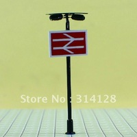 """mdoel lamp, T86 lamppost for train layout HO scale Height: Approx. 6cm or 2.4""""inch Reference scale: 1:87~1:100"""