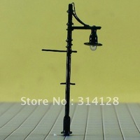 """model lamp, T83 lamppost for train layout HO scale Reference scale: 1:87~1:100 Approx. 6.5cm or 2.6""""inch"""