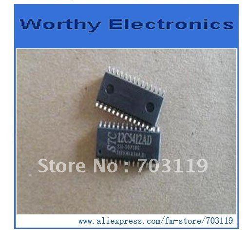 Интегральная микросхема 10pcs/lot STC12C5412AD/35i/sop20 STC12C5412AD/35i STC12C5412AD STC интегральная микросхема 10pcs lot lt1940efe lt1940efe pbf lt1940 tssop16