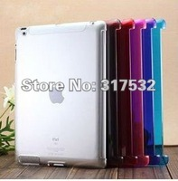 Free Shipping MOQ 1pc, smart cover Case Hard Clear Plastic Case Cover for IPAD2