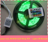 Free Shipping 5M 3528 LED Waterproof Strip Light 300 LED DC 12V RGB/White/Blue/Yellow/Red/Green Strip Light