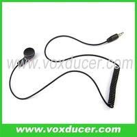 2.5mm plug listen only earphone for speaker mic