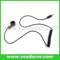 2.5mm plug listen only earphone for speaker mic