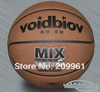 Free shipping High quality voidbiov Leather basketball indoor outdoor basketball Standard men&amp;#39;s basketball
