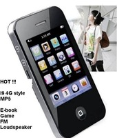 "new 2.8"" 2GB 4GB 8GB Touch Screen I9 4G Style Mp3 Mp4 player MP5 Player Camera Game"