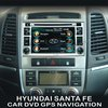 Car DVD Radio GPS Navigation Stereo Headunit for Hyundai Santa Fe